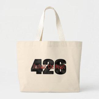 beast 426 Mopar Hemi Canvas Bags