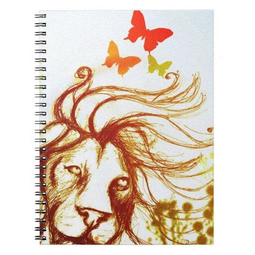 Beast and the Butterflies Notebook