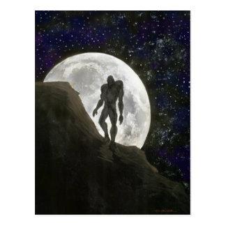 Beast at Full Moon Post Card