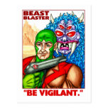 Beast Blaster Post Cards