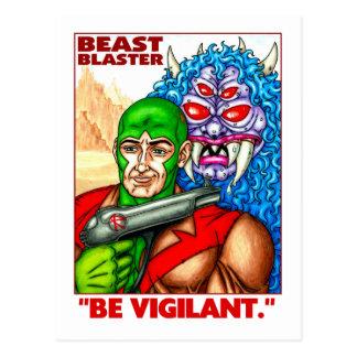 Beast Blaster Postcard