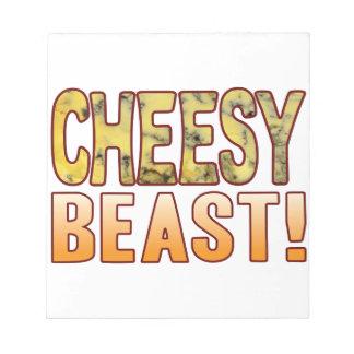 Beast Blue Cheesy Notepad