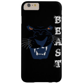 BEAST FANGS AND YELLOW EYES BARELY THERE iPhone 6 PLUS CASE