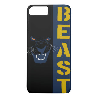 BEAST FANGS AND YELLOW EYES iPhone 8 PLUS/7 PLUS CASE
