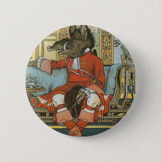 Beast from Beauty and The Beast Button