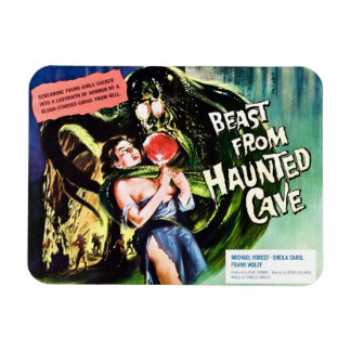 """""""Beast From Haunted Cave"""" Magnet"""