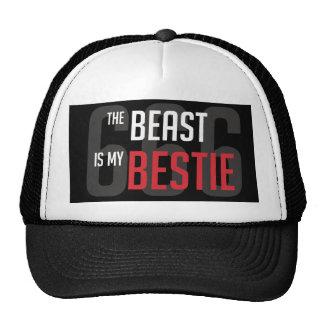 Beast Is My Bestie Trucker Trucker Hat