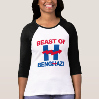 BEAST OF BENGHAZI - - Anti-Hillary - T-Shirt
