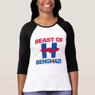 BEAST OF BENGHAZI - - Anti-Hillary - T-Shirt