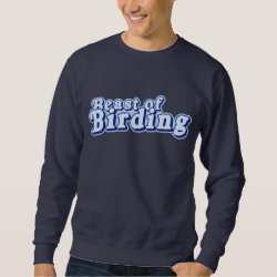 Men's Basic Sweatshirt with Beast of Birding design