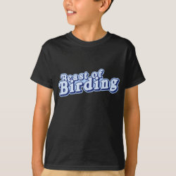 Kids' Hanes TAGLESS® T-Shirt with Beast of Birding design