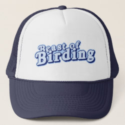 Trucker Hat with Beast of Birding design