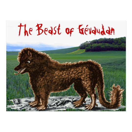 Beast of Gévaudan Postcard