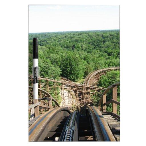 Beast Roller Coaster at Kings Island Dry-Erase Board