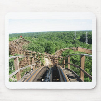 Beast Roller Coaster at Kings Island Mouse Pad
