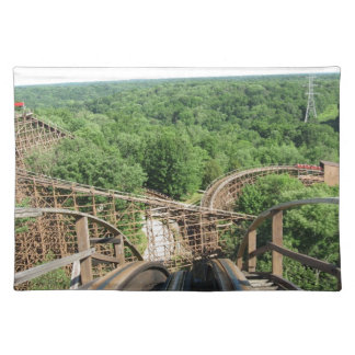 Beast Roller Coaster at Kings Island Place Mats