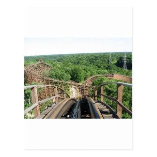 Beast Roller Coaster at Kings Island Postcard