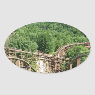 Beast Roller Coaster at Kings Island Stickers