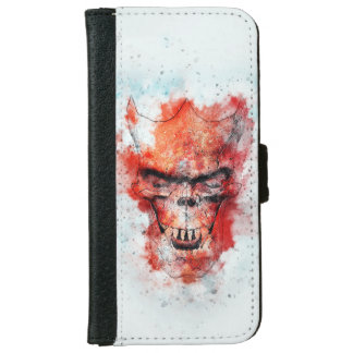 Beast Skull Wallet Phone Case For iPhone 6/6s