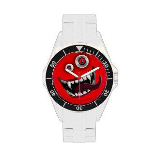 beast smiley wristwatch