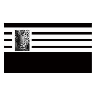 beast stripes business card