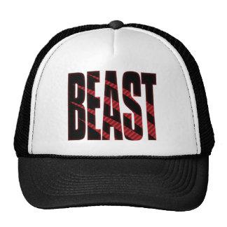 BEAST. Tough.Hardcore.Muscle.Wild.Animal Trucker Hat