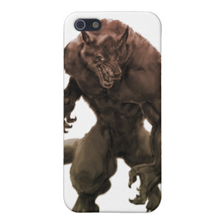 Beastly werewolf iPhone 5/5S cases
