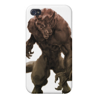 Beastly werewolf iPhone 4 cover