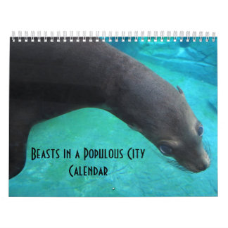 Beasts in a Populous City - calendar