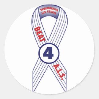 Beat ALS Classic Round Sticker