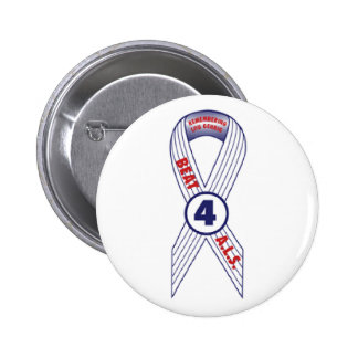 Beat ALS Pinback Button