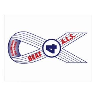 Beat ALS Postcard