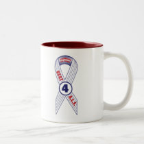 Beat ALS Two-Tone Coffee Mug