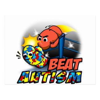 Beat Autism Postcard