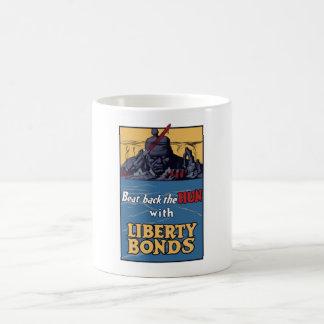 Beat Back The Hun With Liberty Bonds Classic White Coffee Mug