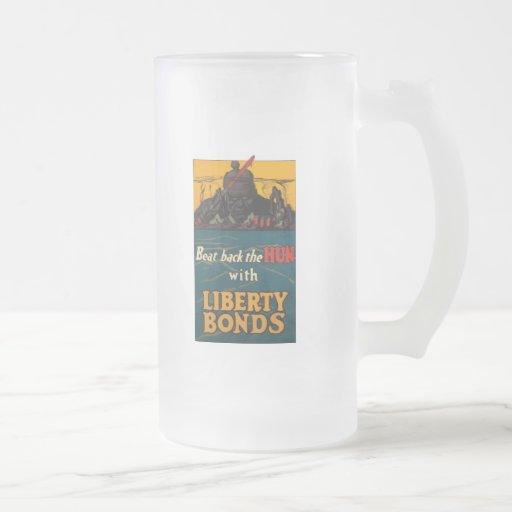 Beat Back The Hun World War 2 Mugs