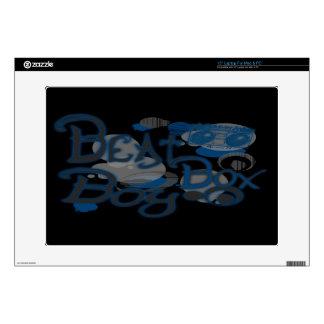 """Beat Box Boy Blue Computer Skins 15"""" Laptop Skin"""