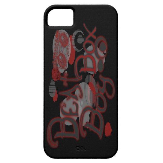 Beat Box Boy Red iPhone 5 Case