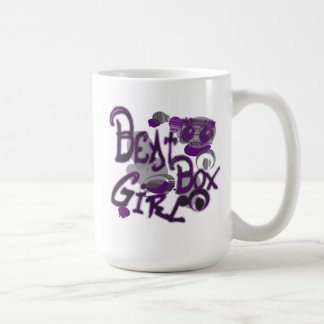 Beat Box Girl Purple Mugs