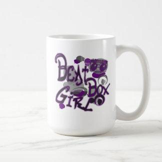 Beat Box Girl Purple Mugs