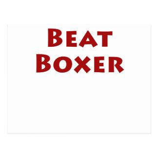 Beat Boxer Postcard