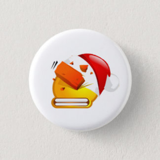 beat brick christmas face button