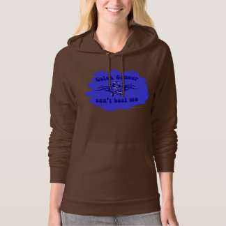 Beat Colon Cancer  Ladies Hoodie