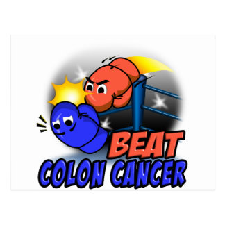 Beat Colon Cancer Postcard