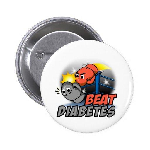 Beat Diabetes 2 Inch Round Button