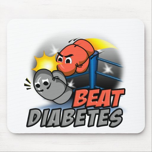 Beat Diabetes Mouse Pad