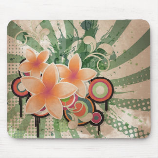 Beat Flowers Mouse Pad