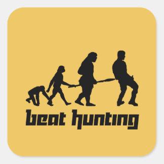 Beat Hunting Square Sticker