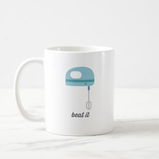 Beat It | Blue Kitchen Beater Coffee Mug
