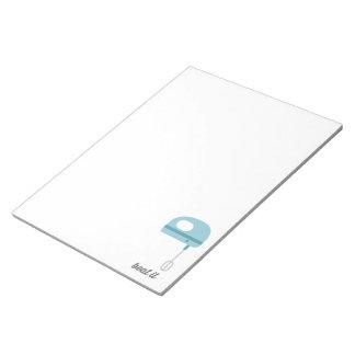 Beat It | Blue Kitchen Beater Note Pad